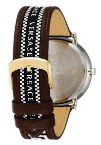 Versace Watches - CIRCLE GRECA EDITION - Watch - brown - 2
