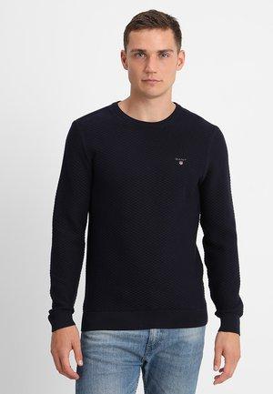 TEXTURE  - Stickad tröja - evening blue