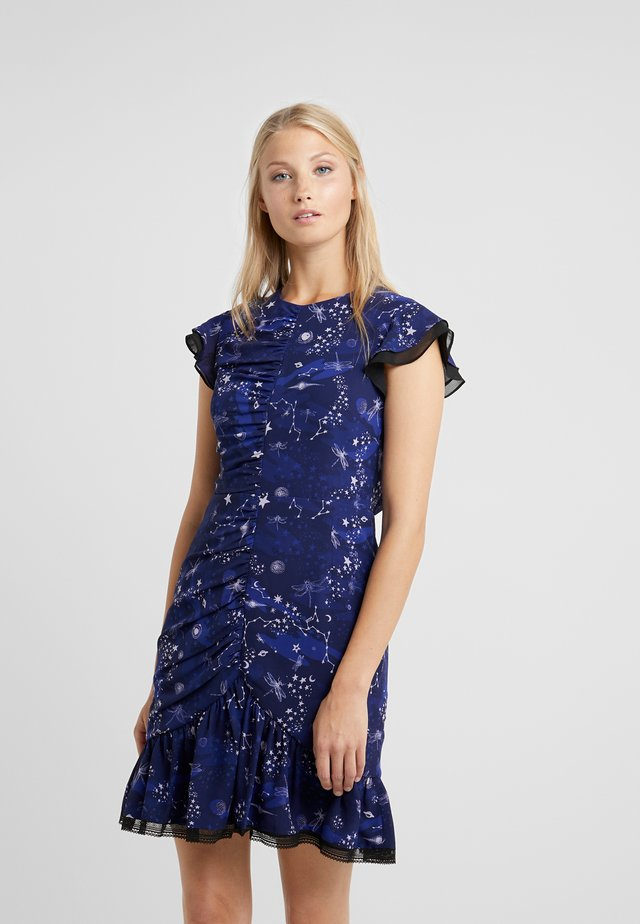 AFTERGLOW DRESS - Vestido de cóctel - midnight navy