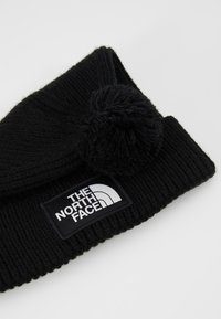 The North Face - LOGO BOX POM BEANIE UNISEX - Beanie - black - 5