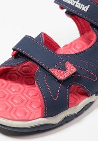 Timberland - ADVENTURE SEEKER 2 STRAP - Walking sandals - navy/pink - 2