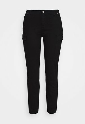 CARGO - Jeans relaxed fit - black