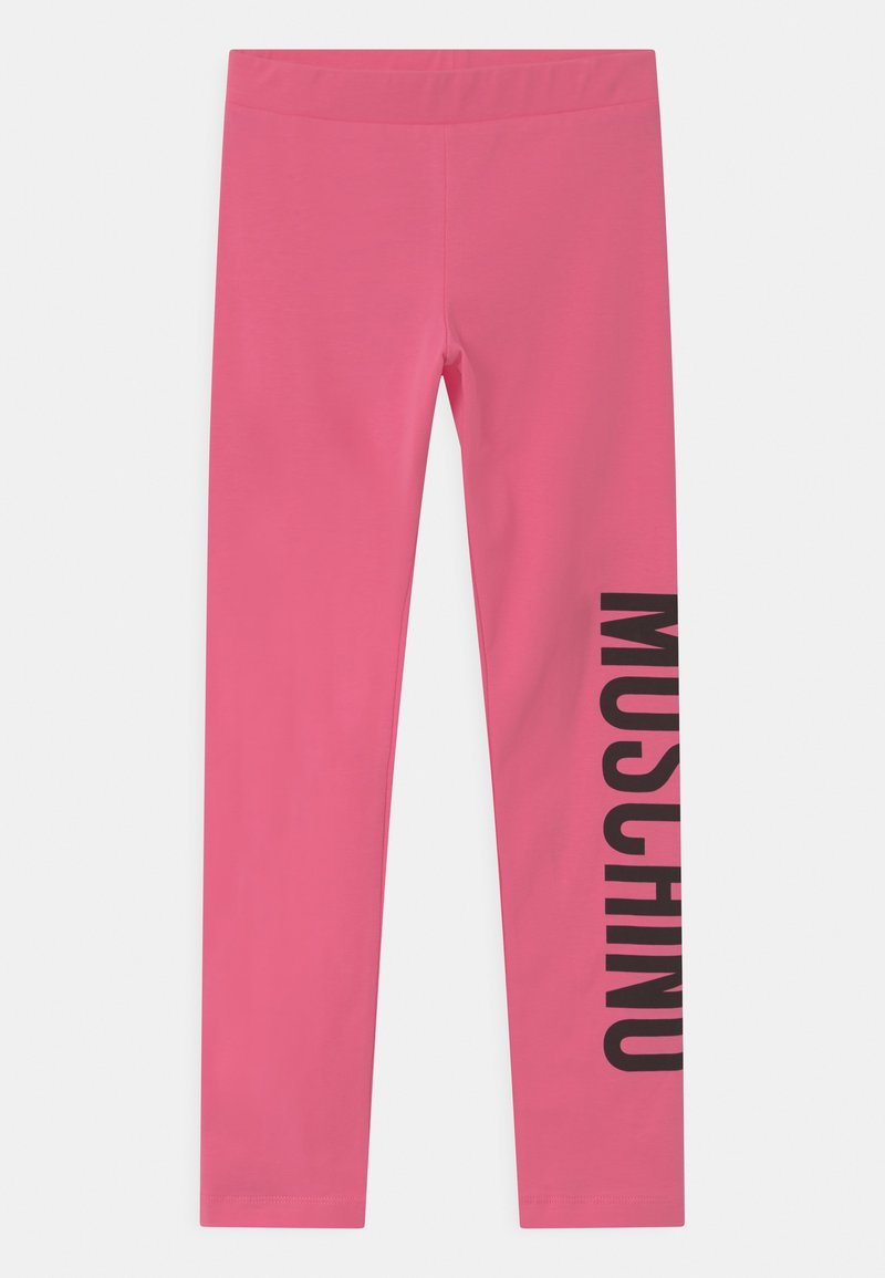 MOSCHINO - Leggings - Trousers - camellia rose