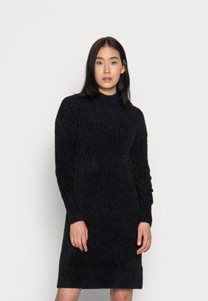 FLUFFY DRESS - Day dress - black