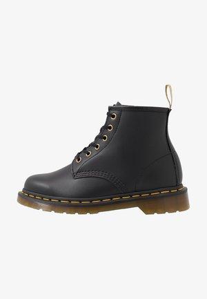 VEGAN 101 - Lace-up ankle boots - black