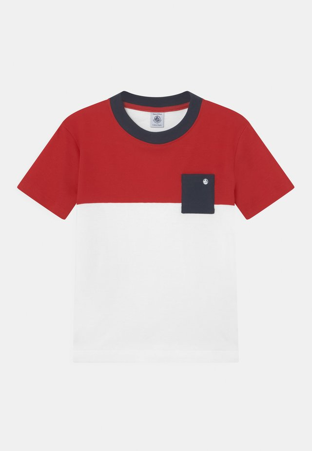 MAILING COLOURBLOCK  - T-shirt print - terkuit/marshmallow