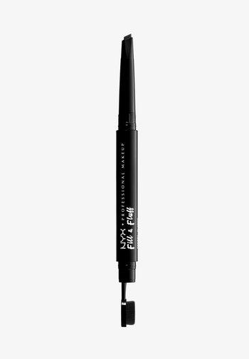 FILL&FLUFF EYEBROW POMADE PENCIL - Eyebrow pencil - black