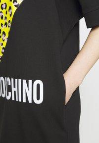 Love Moschino - Jerseyjurk - black - 6