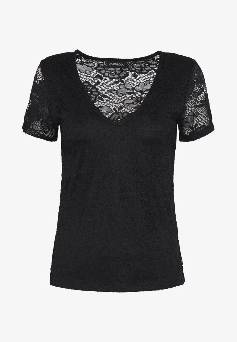 Even&Odd T-Shirt print - black/schwarz xX6QDs