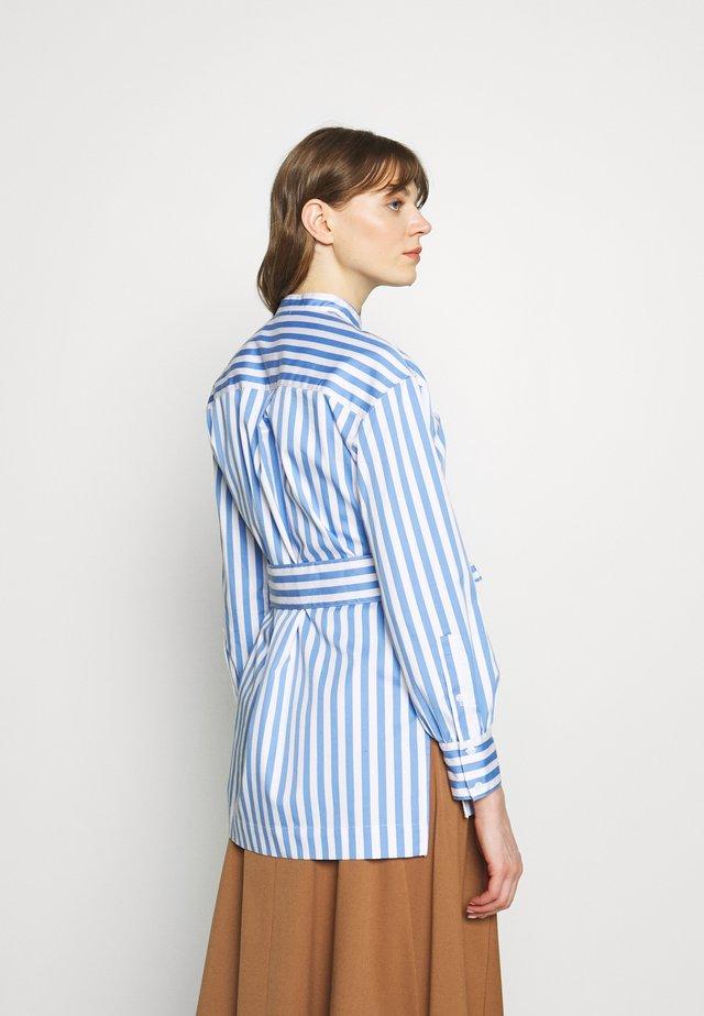 HALF PLACKET TUNIC - Skjorte - white/multi