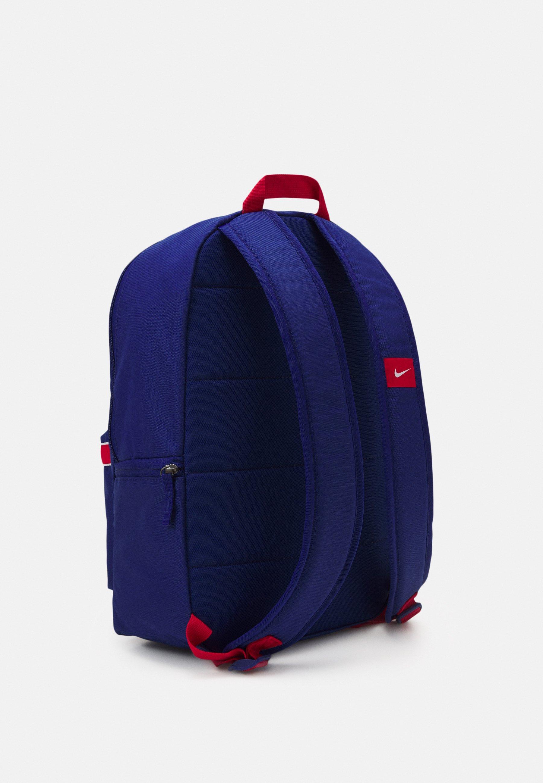 Nike Performance STADIUM - Mochila - deep royal blue/university red/white poM2b