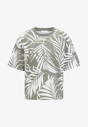 EVINA PRINT ACTIVE - T-shirt print - grau