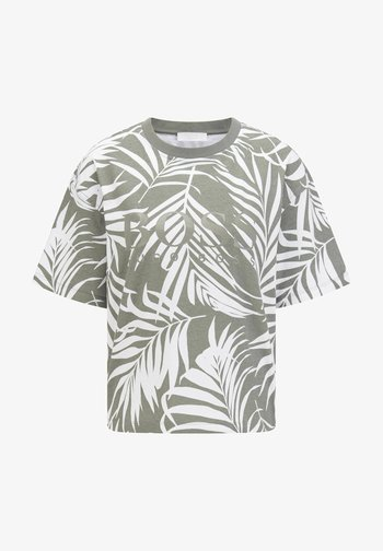 EVINA PRINT ACTIVE - T-shirt imprimé - grau