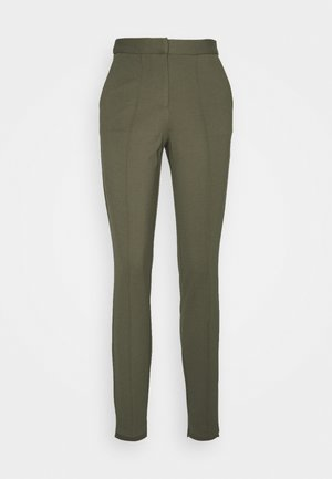 OBJCHIA NICKY ANCLE PANT  - Trousers - burnt olive