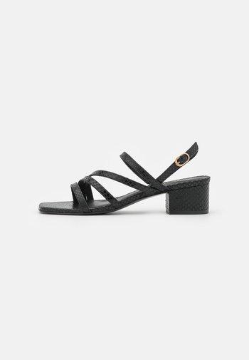 Sandals - noir