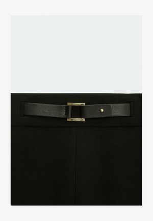 FLANELL  - Trousers - black
