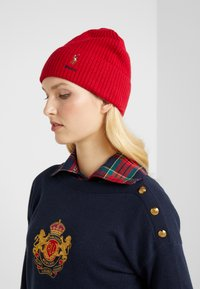 Polo Ralph Lauren - BLEND CARD - Bonnet - red - 1