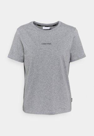 REGULAR MINI TEE - Jednoduché triko - mid grey heather