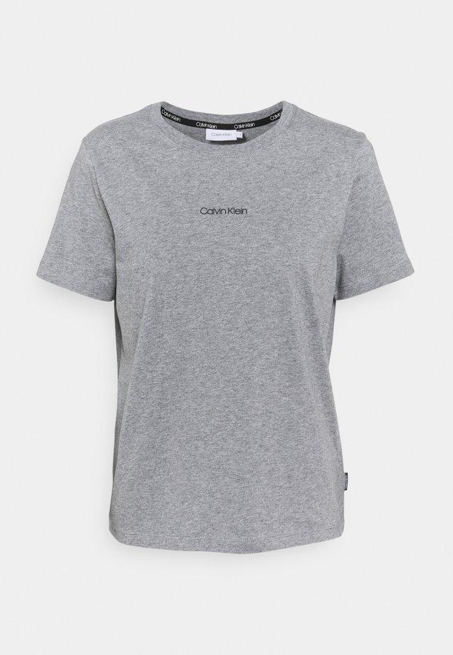 REGULAR MINI TEE - T-Shirt basic - mid grey heather