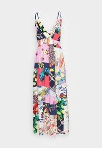 Desigual - TROPICAL - Korte jurk - material finishes - 3
