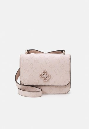NOELLE MINI CROSSBODY FLAP - Across body bag - blush