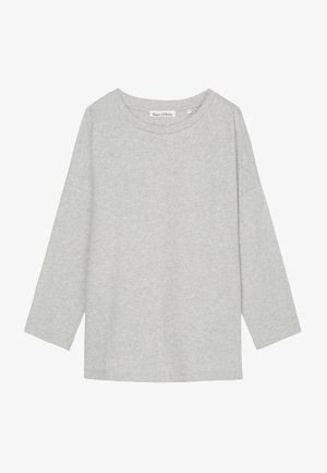 Blouse - stony grey melange