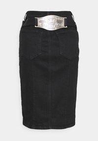 Diesel - DE-FEDY-SP - Denim skirt - black - 1