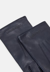 Emporio Armani - Gloves - blu notte - 3
