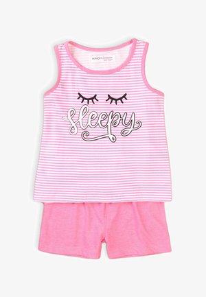 SET - Pyžamový spodní díl - pink