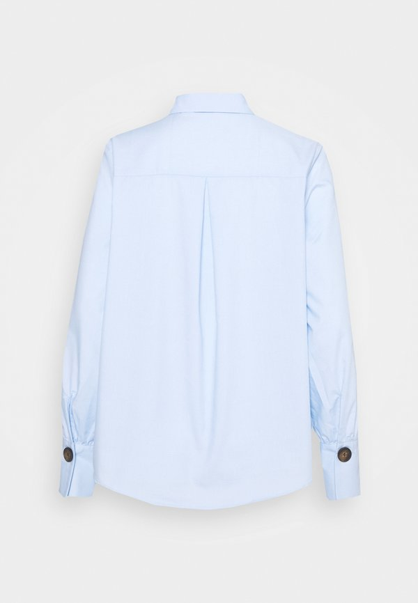 Freequent FLYNN FLOUNCE - Bluzka - chambray blue/jasnoniebieski VDYQ