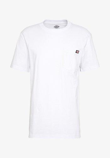 PORTERDALE POCKET TEE - Basic T-shirt - white