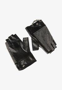 KARL LAGERFELD - Fingerless gloves - a black/nick - 0