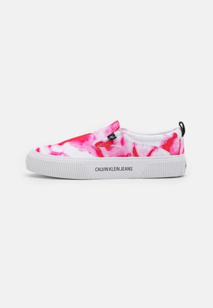 VULCANIZED SKATE MARBL  - Trainers - marble pink