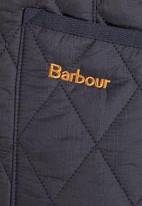 Barbour - BETTY INTERACTIVE LINER - Kamizelka - navy - 4