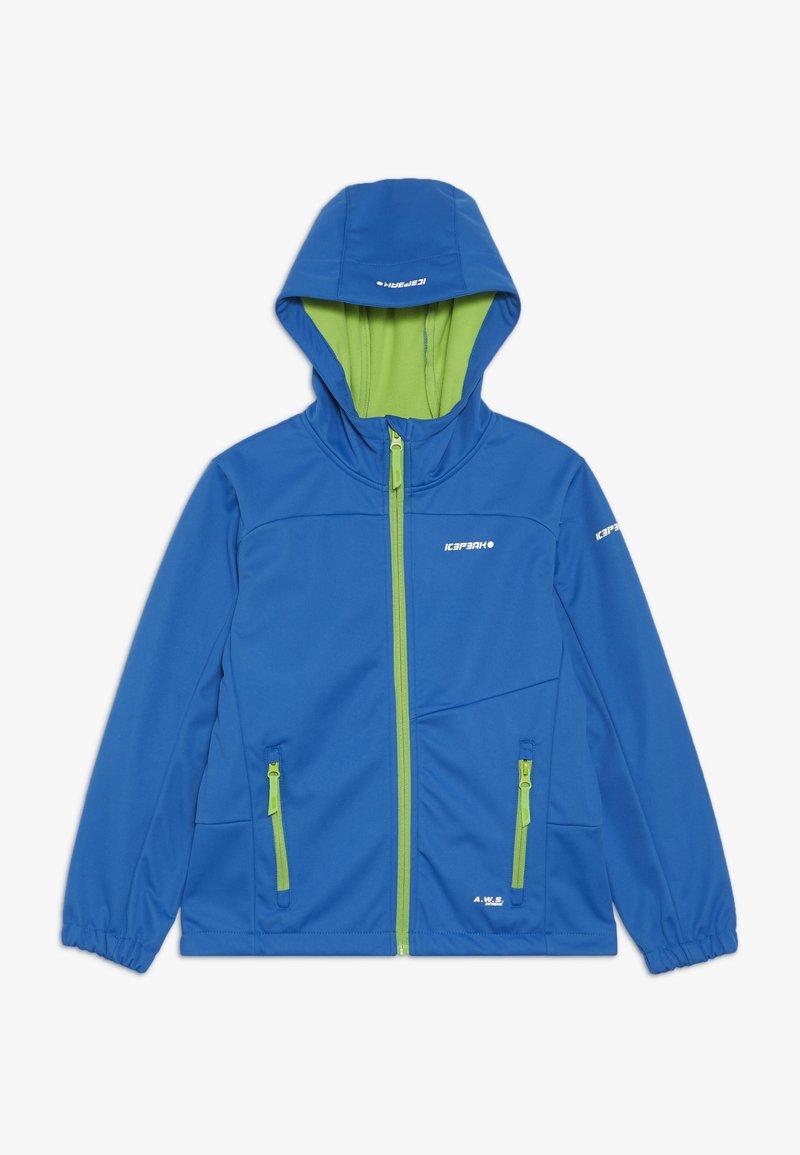 Icepeak - LAURENS - Soft shell jacket - blue