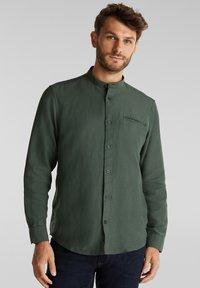 Esprit - WINTERWAFFL - Shirt - dark khaki - 0