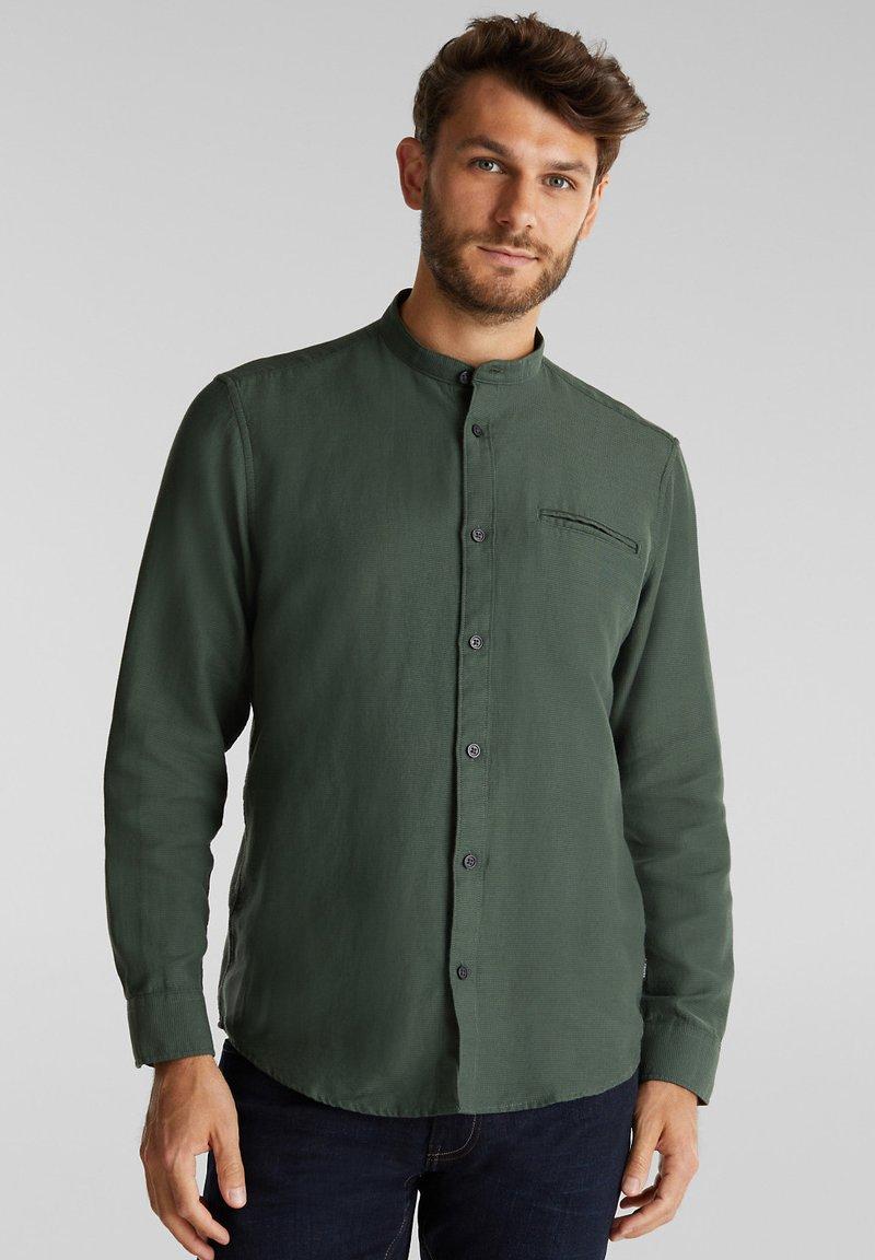 Esprit - WINTERWAFFL - Shirt - dark khaki