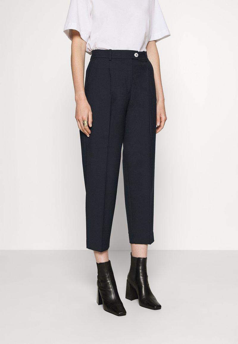 Tommy Hilfiger - ICON TAPERED - Trousers - desert sky