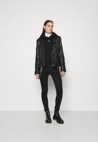 Denham - MACE HOODY - Sweatshirt - black - 1