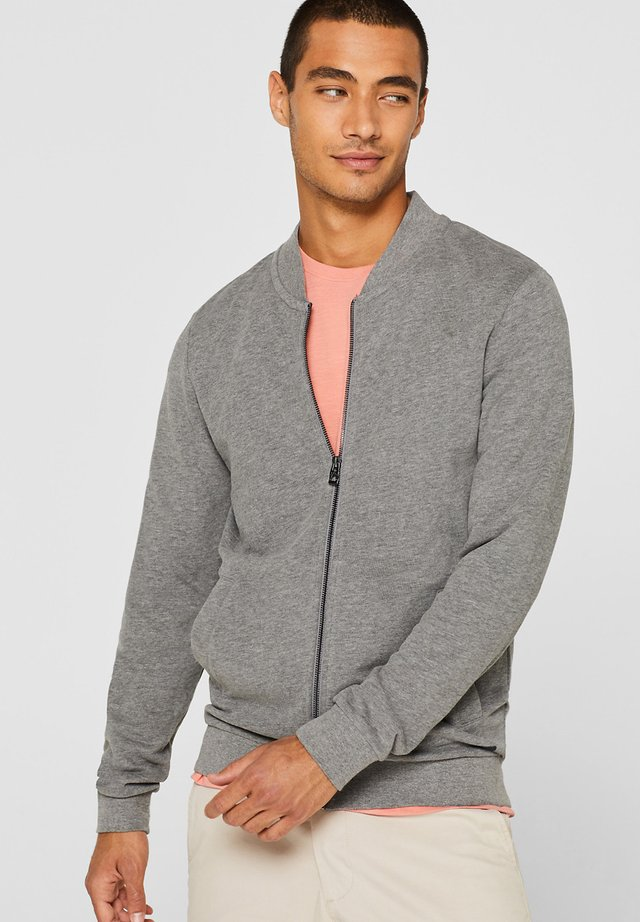 Cardigan - medium grey