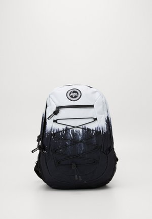 MAXI BACKPACK DRIPS - Batoh - black/white
