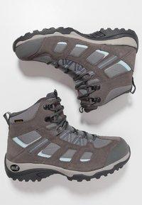 Jack Wolfskin - VOJO HIKE 2 TEXAPORE MID - Hiking shoes - tarmac grey - 1