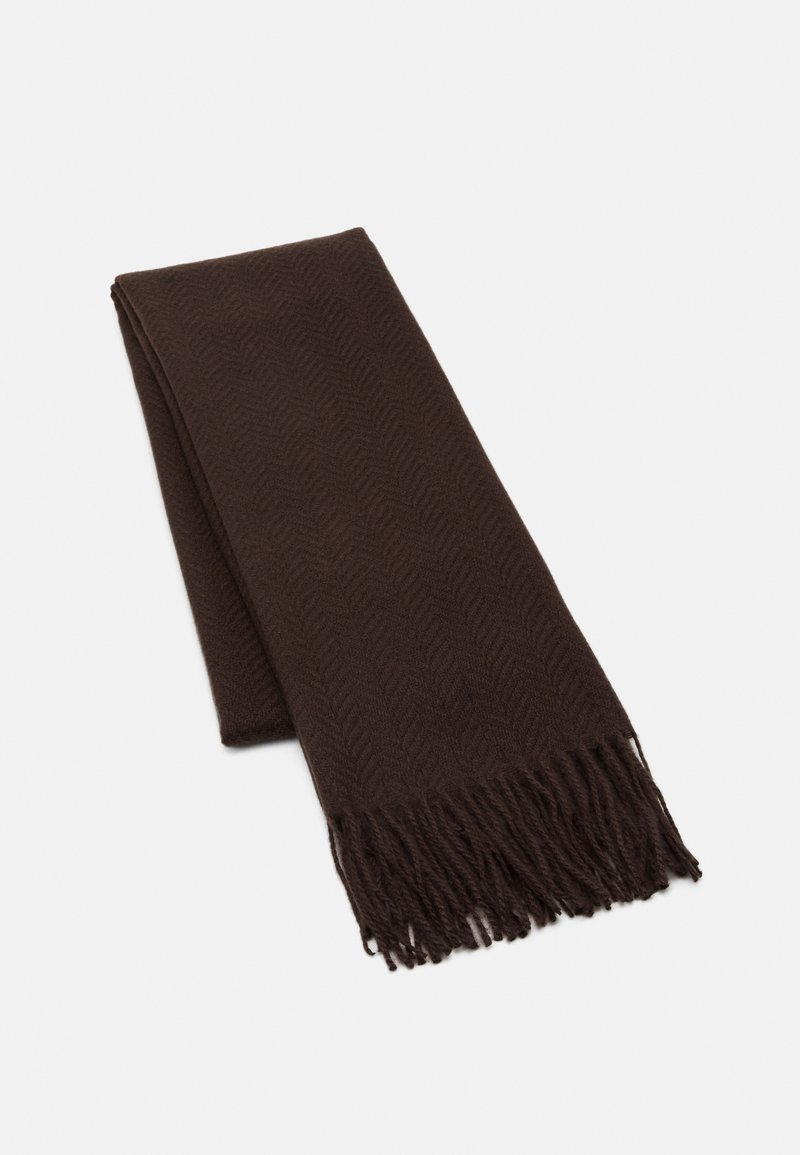 Pieces - PCKIAL NEW LONG SCARF  - Scarf - brown