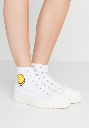 HIGH TOP - High-top trainers - white