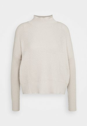 STEP COLLAR - Jumper - beige
