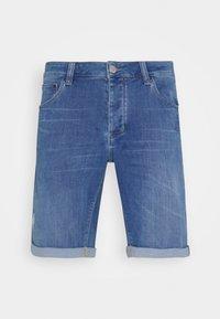 JASON SANZA - Denim shorts - blue denim
