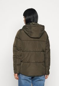 Dorothy Perkins Petite - HOODED PADDED  - Winter jacket - khaki - 2