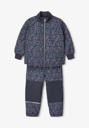 Snowsuit - ombre blue