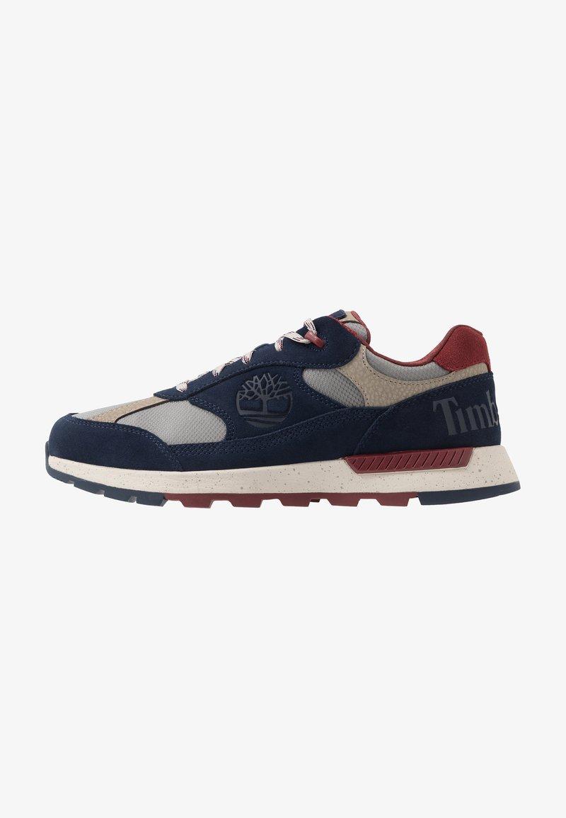 Timberland - FIELD TREKKER - Sneaker low - navy