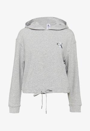 ONE LOUNGE HOODIE - Pyžamový top - grey heather